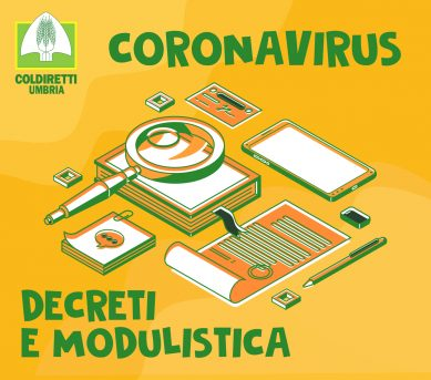 CORONAVIRUS: DECRETI E MODULISTICA