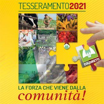 TESSERAMENTO 2021: LA FORZA CHE VIENE DALLA COMUNITA'!
